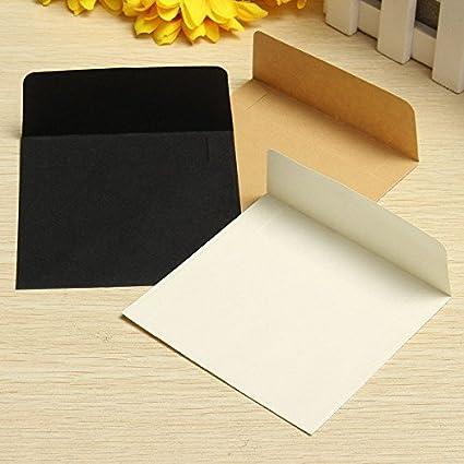 amazon com small square envelopes black square envelopes