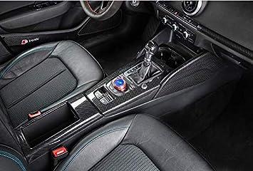 HDCF 4Pcs//Set ABS Carbon Fiber Style Car Door Trim Strips For A3 8V 2014-18