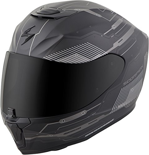 (Scorpion EXO-R420 Helmet - Techno (Large) (Phantom))