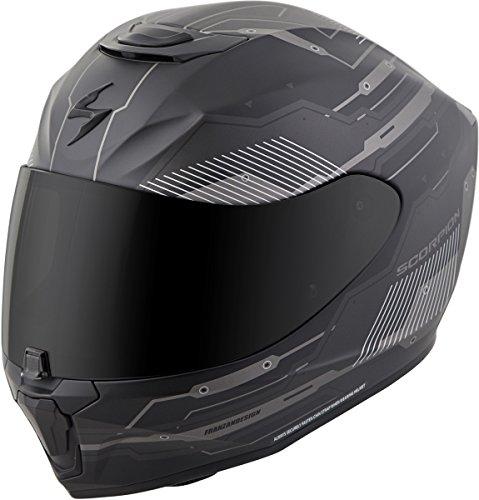 Scorpion EXO-R420 Full-Face Techno Street Bike Motorcycle Helmet - Phantom/Large