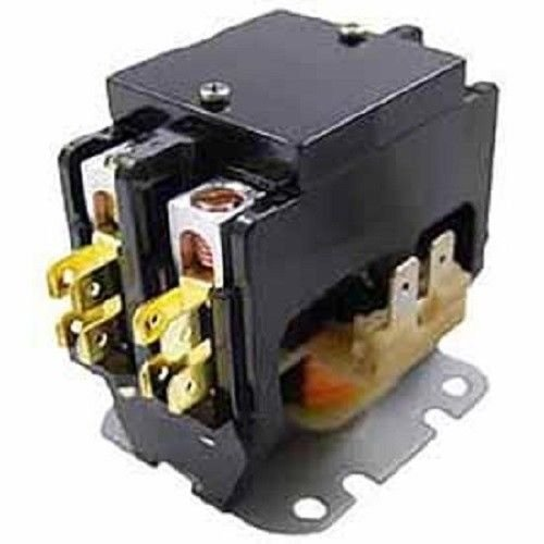 30 amp 120 vac double 2-pole definite purpose contactor hvac packard c230b