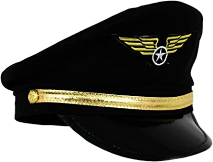 Deguisement Chapeau Pilote de Ligne