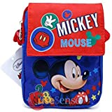 Disney Minnie, Lilo, Frozen, Jack & Mermaid Fanny Bag Shoulder Body Cross Passport Hand Bag- 1 Pc (MICKEY)