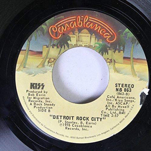 KISS 45 RPM Detroit Rock City / Beth