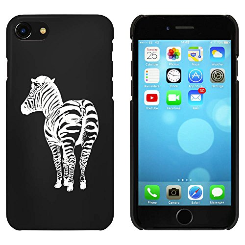 Noir 'Zèbre' étui / housse pour iPhone 7 (MC00065319)