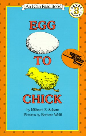 Egg to Chick (I Can Read Book 3) (I Can Read Level 3)