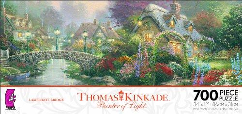 Ceaco Thomas Kinkade Panoramic - Lamplight Bridge ()