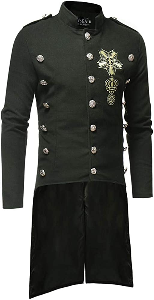 TWIFER Manteau Homme Hiver Trench Coat Chaud Slim Fit Casual