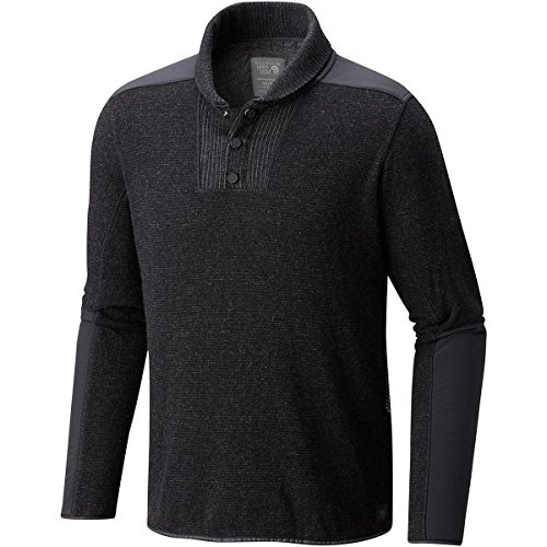 Mountain Hardwear Men's Mtn Tactical Pullover Sweater Black Small by Mountain Hardwear