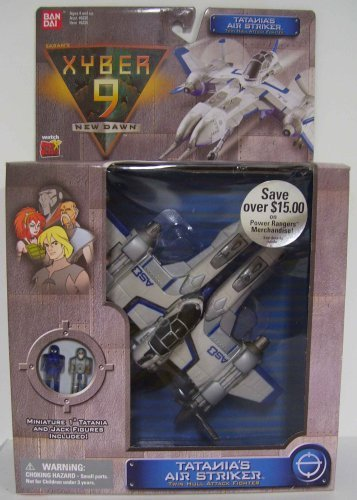Xyber 9 New Dawn Hammeron Attack Fighter by Bandai