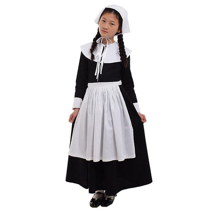 Amazon.com: GRACEART - Disfraz de peregrina renacentista ...