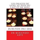 Les orages de sang au pays du Lait et de Miel, Burundi