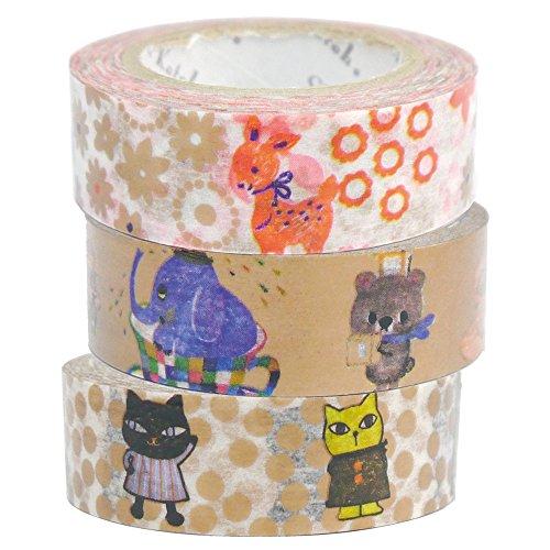 Seal Hall Shinzi Katoh masking tape paris lantern three-volume set C