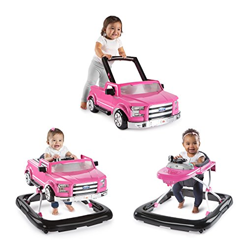 new-bright-starts-3-ways-to-play-baby-activity-walker-ford-f-150-in-pink