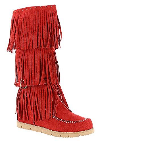 Dolce Av Mojo Moxy Kvinners Armbrøst Frynser Boot Red