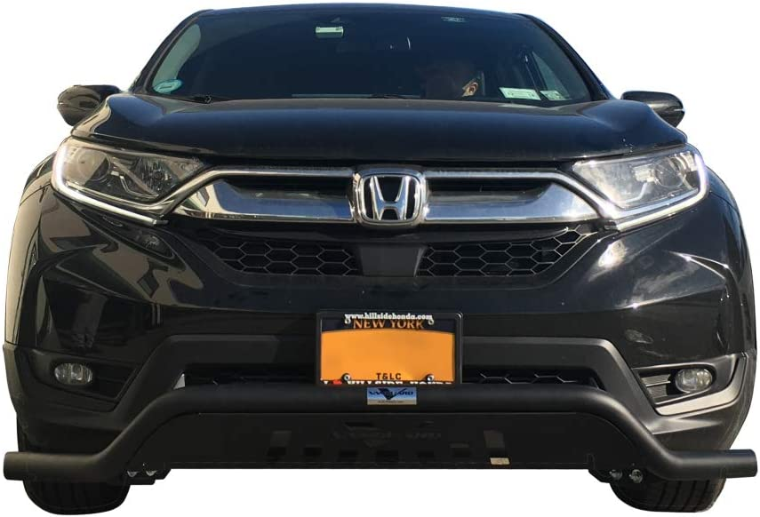 VANGUARD VGUBG-1772-1773BK For Honda CRV 2017-2019 Bumper Guard Black Elegant Low Bull Bar