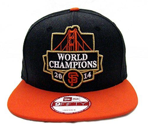 ae3da92f9a1 San Francisco Giants New Era 3X World Series Champions Snapback ...