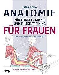 Anatomie für Fitness-, Kraft- und Muskeltraining für Frauen