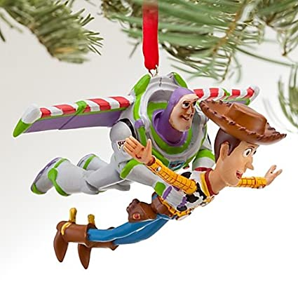 Toy Story Christmas Ornaments.Disney Toy Story Buzz And Woody Ornament