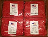 "8"" Cable Ties. Premium Nylon Wire Management Zip-ties. Several colors available in 1,000 piece pack or Bulk Wholesale Case Quantity. 50 LB Tensile. USA Strong Cable Ties (8'' Bulk 10,000 Case, Red)"