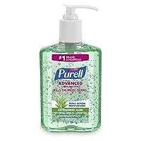 Purell Adv Aloe 8oz pump (Pack of 4)