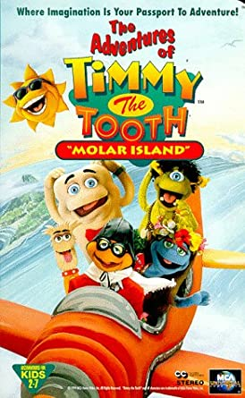 Timmy The Tooth Molar Island VHS
