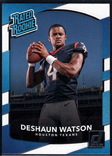 2017 Donruss #345 Deshaun Watson Houston Texans Rated Rookie