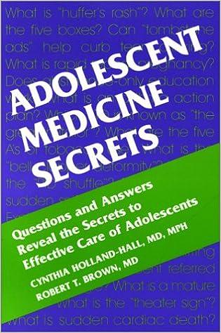 Adolescent Medicine Secrets