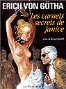 Les Carnets secrets de Janice par Erich von Götha