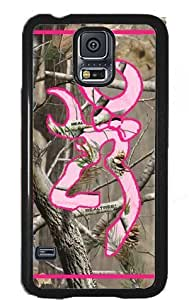 Ships From U S A Country Girl Camo and Pink Buck Samsung Galaxy S5 Sv S V Snap-on Case