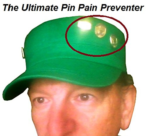 3Pk. Military Hat Crown Half Shaper| Army Cap Shaper| Liner| Hat Storage (Black) by Shapers Image (Image #5)