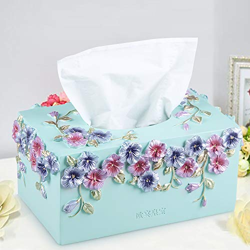 Taihang Tissue Box Garten Harz Papier Box Fashion Paper Box Hause Papiertuch Rohr (Farbe   Gelb) B07Q4KD8MC Toilettenpapieraufbewahrung