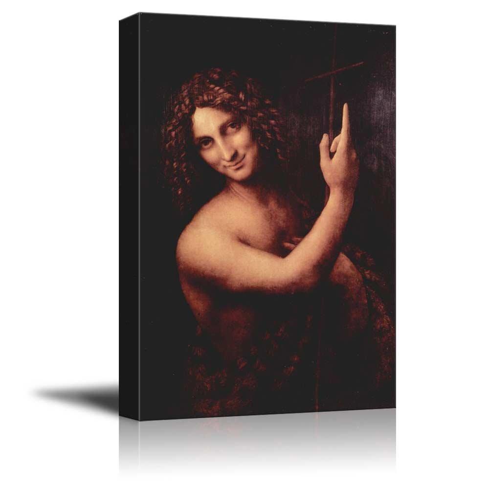 wall26 - St. John The Baptist by Leonardo da Vinci - Canvas...