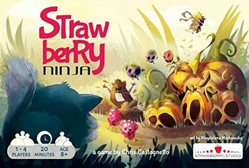 Golden Bell Studios Strawberry Ninja Cooperative Tabletop (Strawberry Bell)