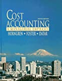 img - for Cost Accounting: A Managerial Emphasis book / textbook / text book