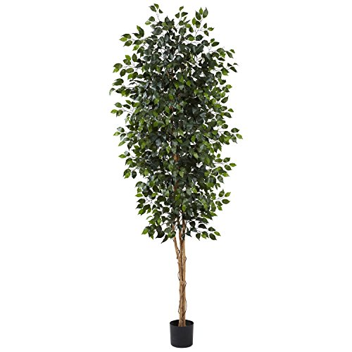 Nearly Natural 8 ft. Ficus Silk Tree by Nearly Natural