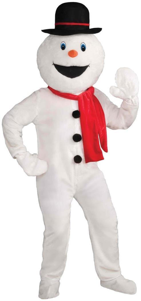 Forum Novelties Men's Deluxe Snowman Mascot Costume, Multi, One Size