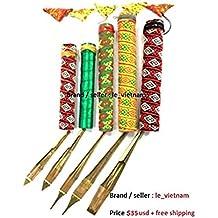 Dan Moi musical Jew's harp Jaw mouth Harp Brass Viet Nam Hmong Instrument vietnamese (Full set (5pcs))