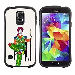 Paccase / Suave TPU GEL Caso Carcasa de Protección Funda para - poket on chair - Samsung Galaxy S5 SM-G900