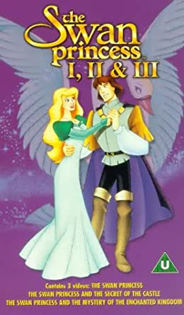 the swan princess the mystery of the enchanted treasure vhs