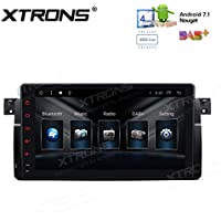 XTRONS HDMI Android 7.1 Quad Core 9 Inch 2G RAM 32G ROM HD Digital Multi Touch Screen Car Stereo Radio Player GPS OBD2 for BMW E46 3er 318 320 325 M3 Rover75 MG ZT