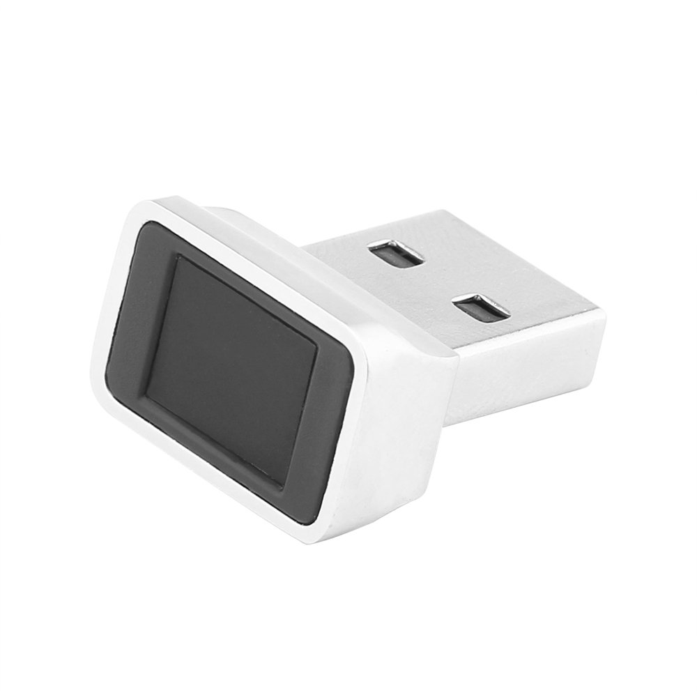 ONEVER Powstro USB Lector de Huellas Digitales, Windows 10 Hello portátil/PC Mini Bloqueo de Seguridad rápida señal en Clave (1PC): Amazon.es: Electrónica
