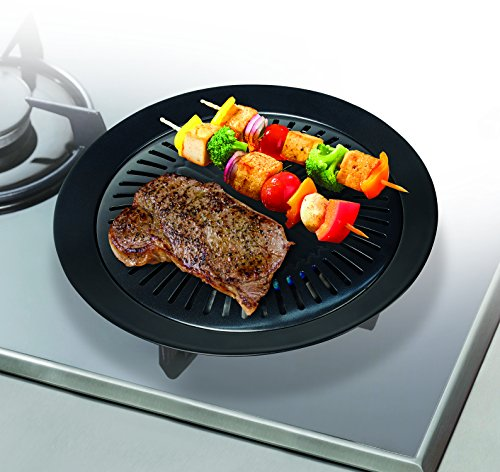 handy-gourmet-stove-top-grill-griddle-cast-iron-healthy-kitchen-barbecue-bbq-cooking-pan