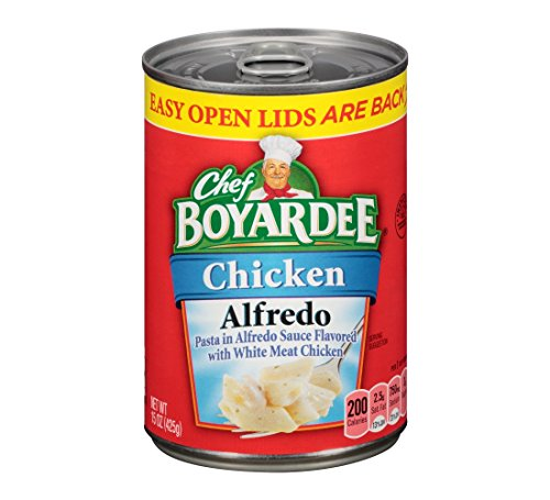 Chef Boyardee Chicken Alfredo 15oz Can (Pack of 12) by Chef Boyardee