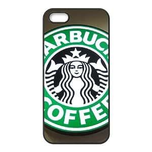 iPhone 5,5S Phone Case Black Starbucks BFG583598