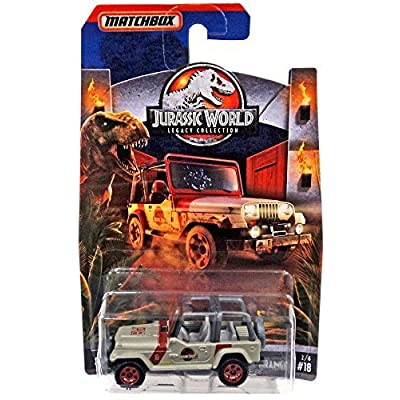 2020 Matchbox Jurassic World Legacy Collection Limited Edition - '93 Jeep Wrangler: Toys & Games