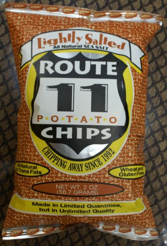 Route 11 Lightly Sea Salted All Natural Potato Chips 6-Pack ( 6 oz. per Pack ) (Potato Lightly Chips Salted)