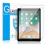 [2 Pack] iPad 9.7'' inch (2018/2017) / iPad Pro 9.7 / iPad Air/iPad Air 2 Glass Screen Protector, SMAPP Tempered Glass Screen Protector - Apple Pencil Compatible / 2.5D Round Edge/Scratch Resistant