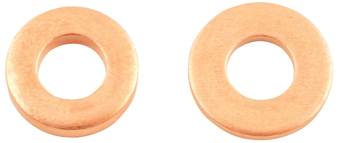 Connect 31759 Common Rail Copper Injector Washer, 15.00 x 7.5 x 2.0 mm, Set of 50