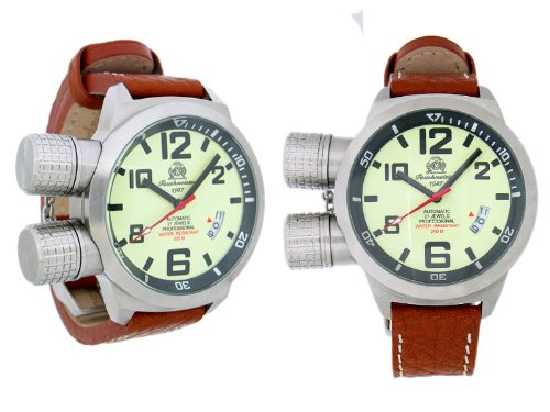 XL-U-Boot watch special protected crown with automatical movement
